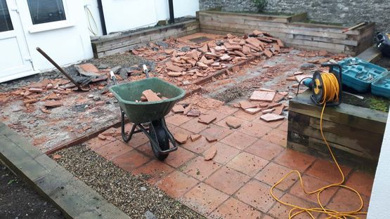 Removal of Existing Patio